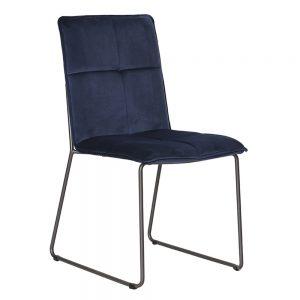 fabric blue chair dining furniture sale belfast uk ni ireland