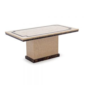 marble beige coffee table