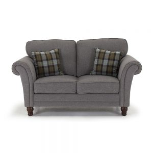 fabric grey 2 seater sofa belfast uk ni ireland