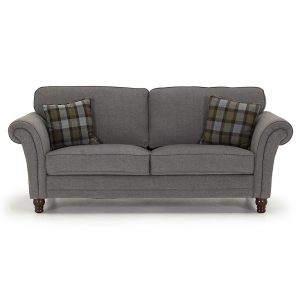 fabric grey 3 seater belfast uk ni ireland sofas sale