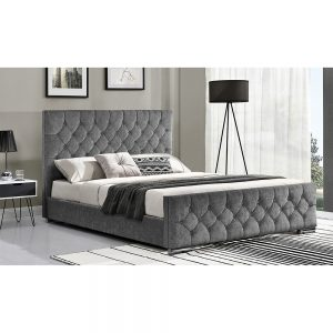 carina bed Belfast silver