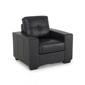 faux leather black 1 seater sofa sale belfast uk ni ireland