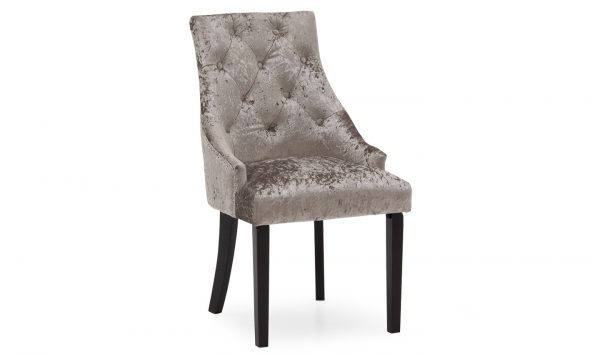 crushed velvet dining chair silver sale belfast furniture uk ni ireland