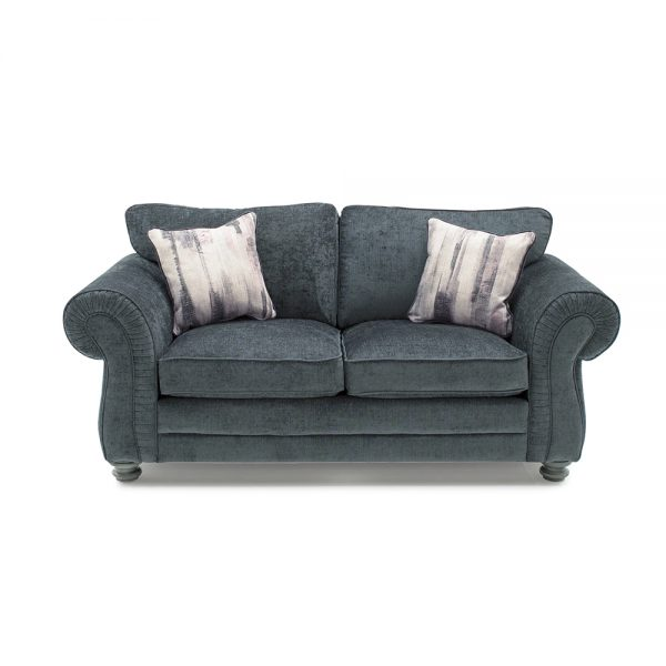2 seater fabric sofa charcoal grey sale belfast uk ni ireland