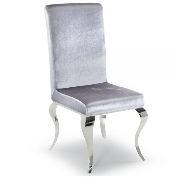 silver velvet dining chair furniture sale belfast uk ni ireland