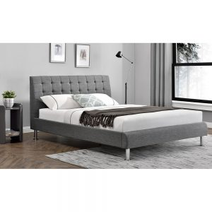 fabric grey charcoal bed sale belfast uk ni ireland