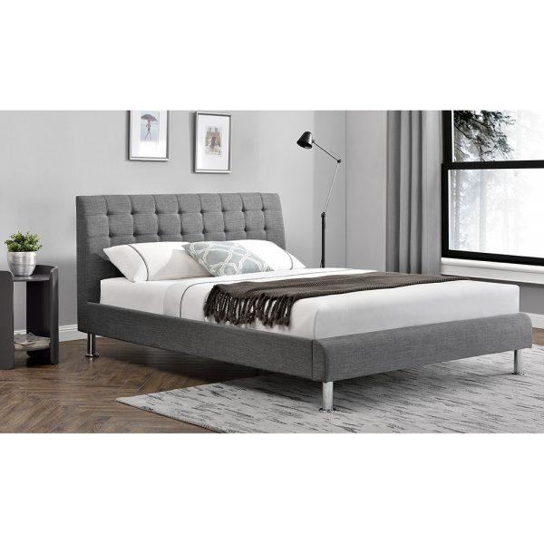 fabric grey charcoal bed sale belfast uk ni ireland