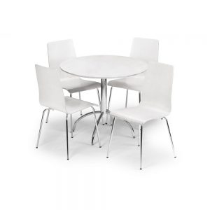 dining table chair set white gloss furniture belfast uk ni ireland