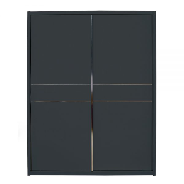 slide robe black grey gloss wardrobe furniture sale belfast uk ni ireland