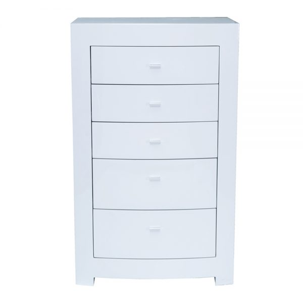 white gloss drawer chest bedroom furniture sale belfast uk ni ireland