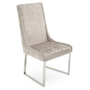 champagne beige velvet crushed dining chair sale belfast uk ni ireland