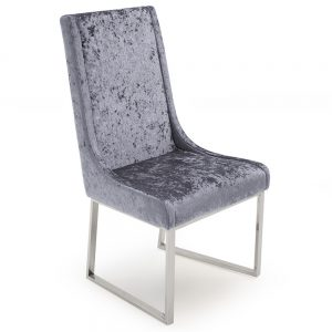 crushed velvet dining chair furniture sale belfast uk ni ireland