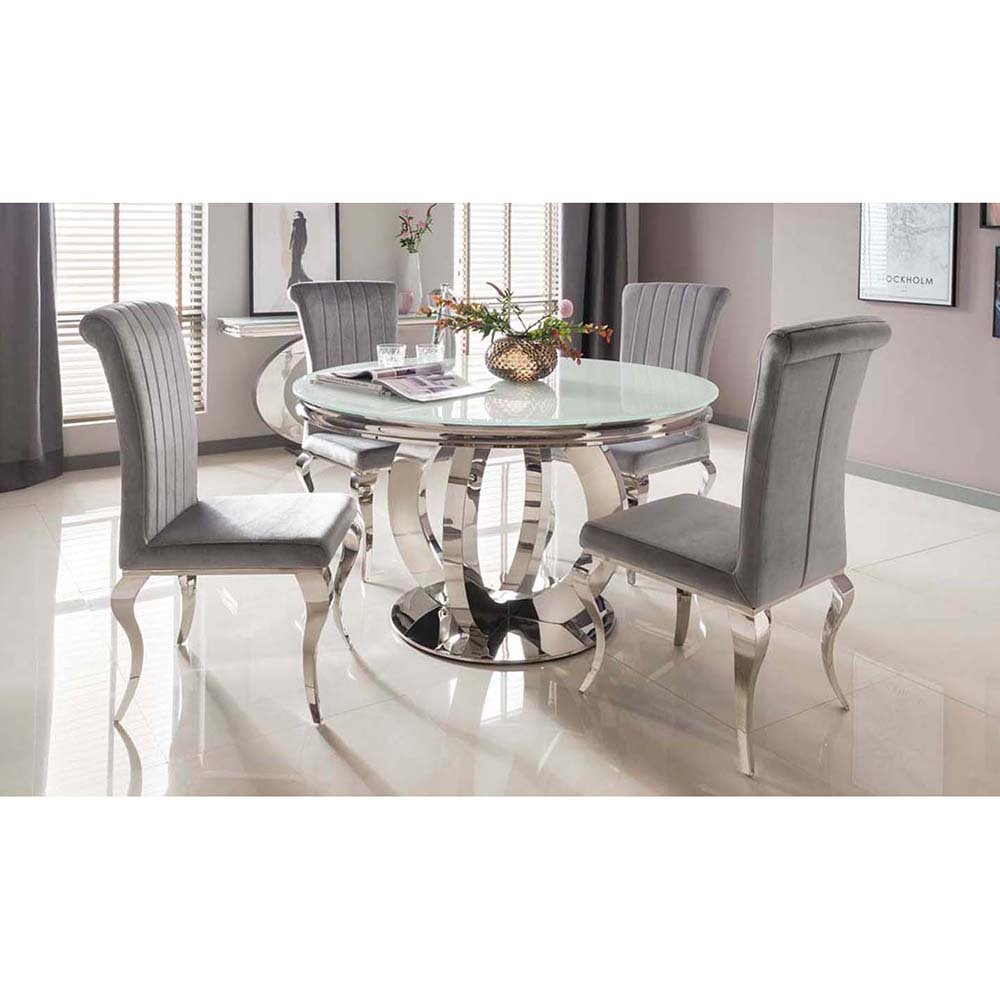 Miraculous Ohio Dining Table Round Interior Design Ideas Tzicisoteloinfo