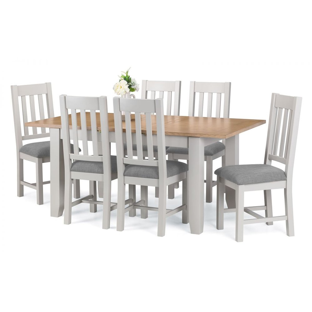 Richmond Dining Set Elephant Grey 4 6 Richmond Chairs Rite Price Carpets Flooring Interiors Belfast