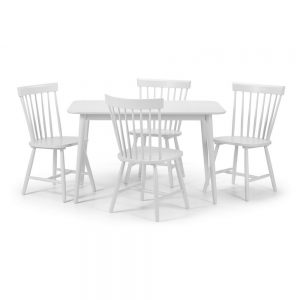 white dining table chairs set belfast sale furniture ukni ireland