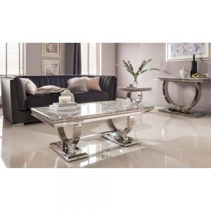 coffee table grey marble gloss dining furniture belfast iireland england uk