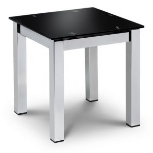 lamp table black gloss silver belfast uk ireland furniture