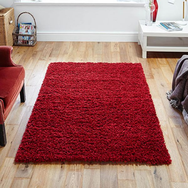 red fluffy ru belfast uk ni irelandn rug rugs floor carpet shop home