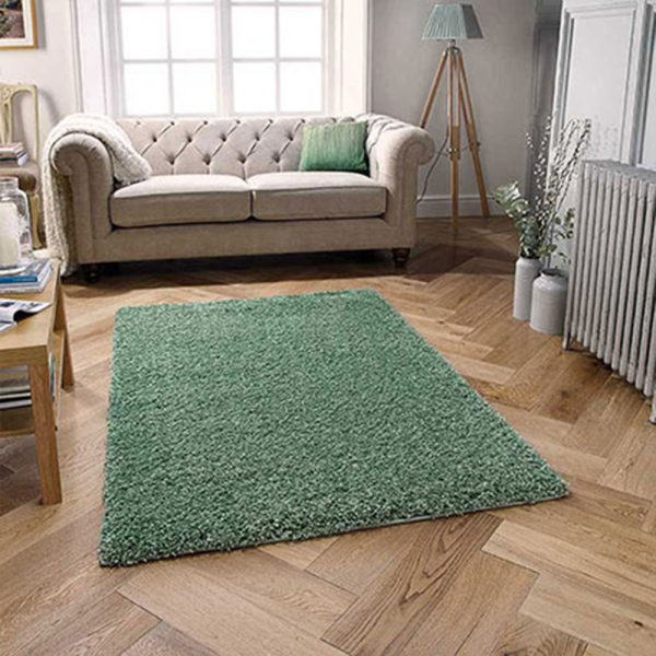 sage green fluffy rug rugs floor carpet belfast ireland uk ni