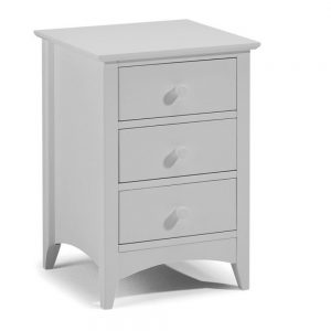 dove grey 3 drawer bedside bedroom furniture belfast uk ni ireland shop home furniture