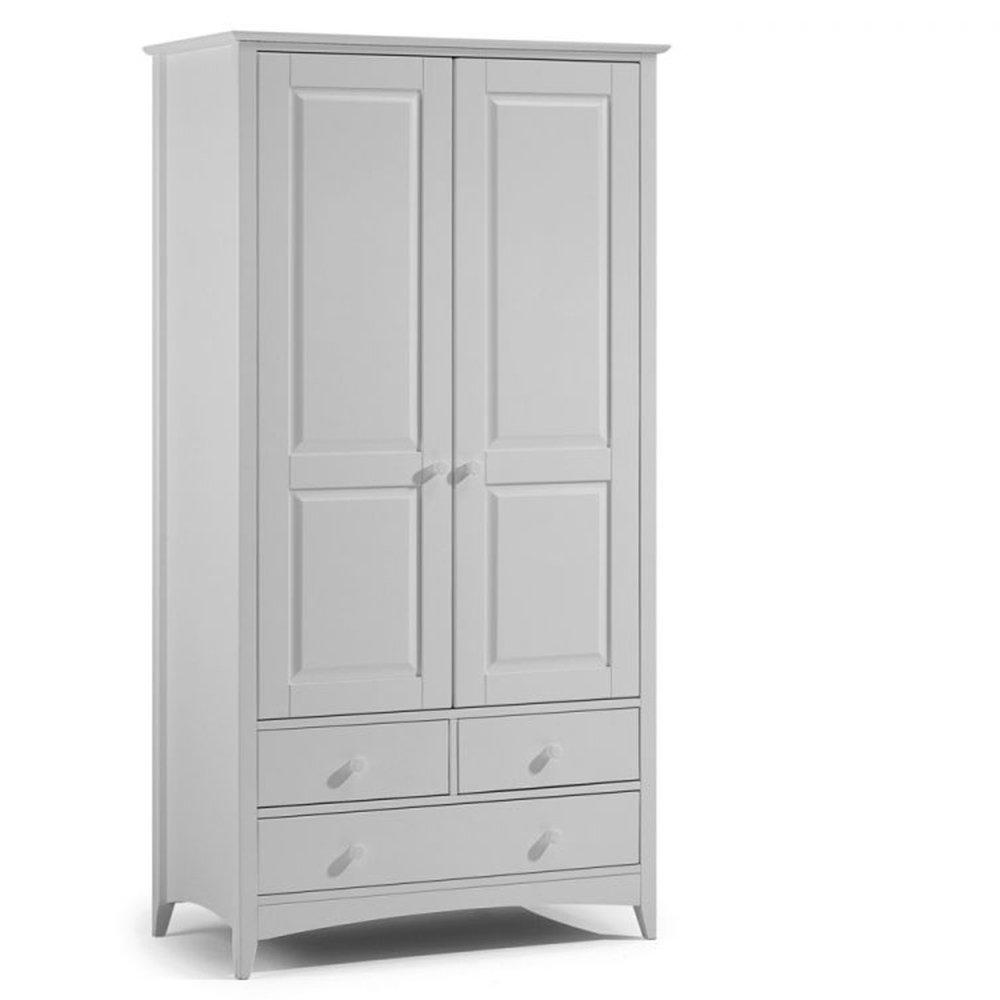 Cameo 2 Door Combination Wardrobe Dove Grey