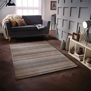 natural brown stripe rug belfast shop furniture carpet floor uk ni ireland
