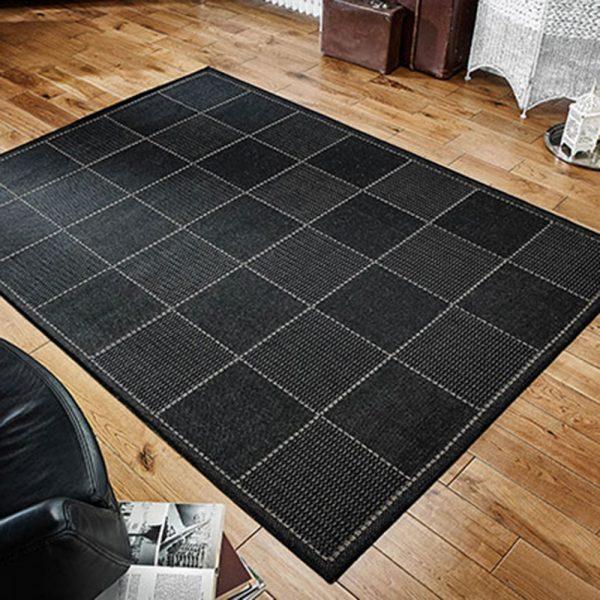 black check greek flat weave rug rugs carpet belfast floor home uk ni ireland