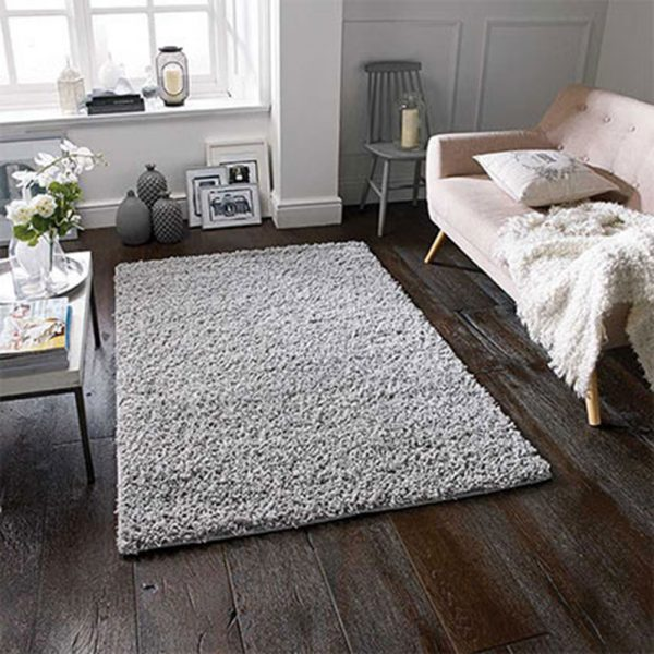 grey fluffy rug rugs carpet floor belfast home furniture ni ireland uk shop