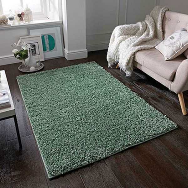 green fluffy sage rug rugs belfast uk ni ireland shop home furiture
