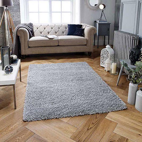 grey fluffy rug rugs shop floor home furniture carpet ni ireland belfast