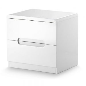 white gloss bedroom furniture bedside cabinets shop home uk ni ireland belfast