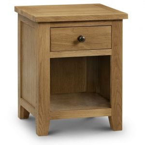 oak 1 drawer bedside table bedroom furniture shop home belfast uk ni ireland ni