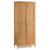 2 door oak wardrobe bedroomm furniture shop uk ni belfast ireland