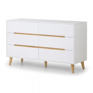 6 drawer chest white shop home bedroom furniture belfast uk ni ireland