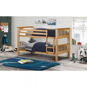 wooden pine antique bunk bed kids children shop home bedroom furniture uk ni ireland belfast