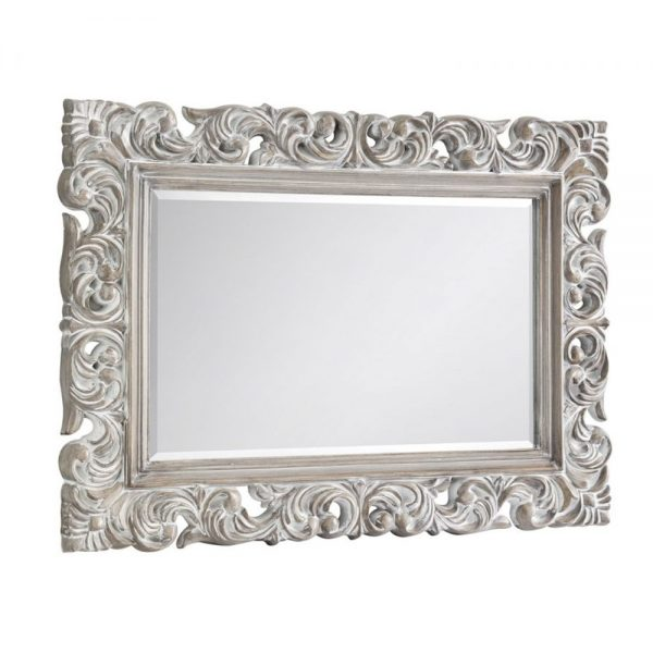 distressed baroque wall mirror ornate detail shop bedroom dining decor furniture home uk ni ireland sale belfast