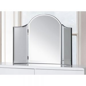curve dressing table mirror white uk ni ireland belfast shop furniture dining bedroom sale home