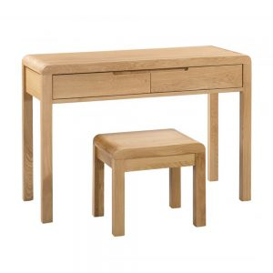 wooden dressing table stool curve shop home bedroom furniture uk ni ireland belfast