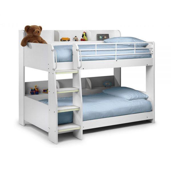 white kids teens bunk bed tween children bed bedroom furniture uk ni ireland shop home belfast