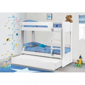 bunk bed white kids children uk ni ireland belfast furniture beds