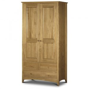 combination 2 door 2 drawer oak wardrobe bedroom furniture belfast shop home uk ni ireland