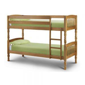 wooden bunk bed kids children uk ni ireland belfast shop beds furniture