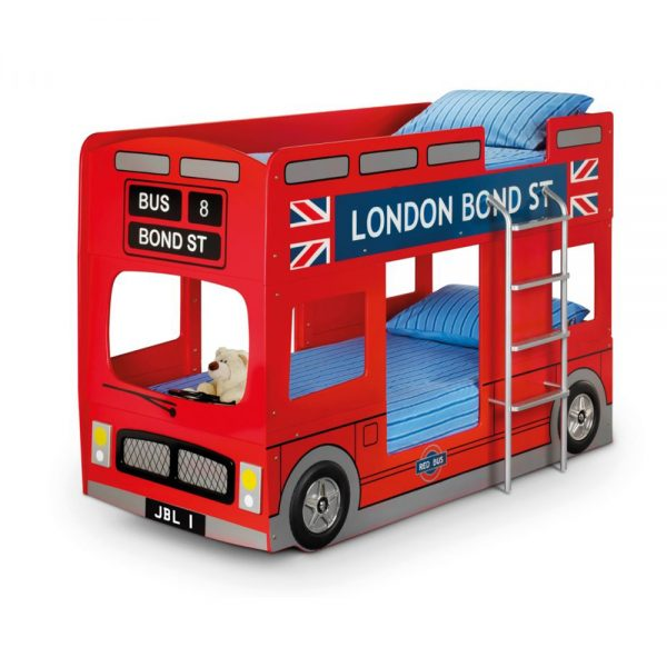 london bus bunk bed kids fun beds bedroom furniture uk ni ireland belfast