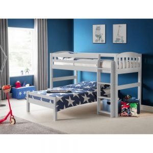 grey light combination beds bunk bed children kids uk ni ireland furniture bedroom belfast
