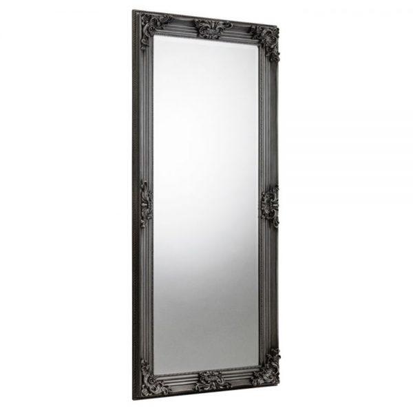 dark pewter charcoal wall mirror lean dress furniture uk ni ireland belfast shop home decor