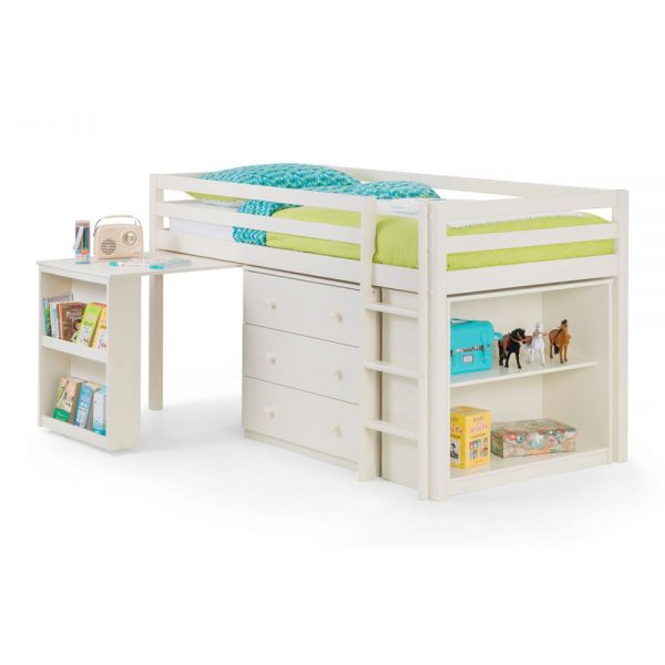 white cream sleepstation bunk beds kids children uk ni ireland belfast shop home furniture belfast uk ni ireland