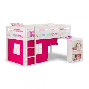 pink white sleeper bunk beds uk ni ireland shop bedroom furniture beds belfast kids child children