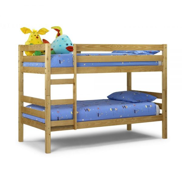 bunk bed oak pink wood kids children sale shop beds bedroom furniture uk ni ireland belfast