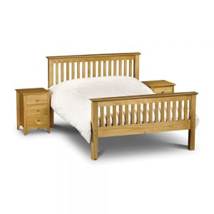 wooden bed bedstead high end