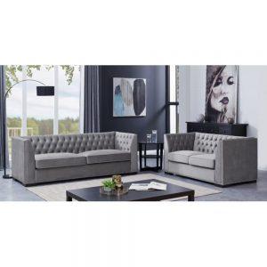 grey sofa set 3 2